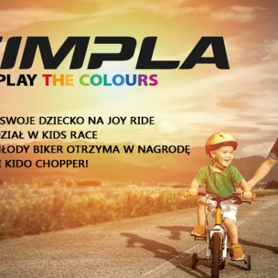 Zawody KIDS RACE na Joy Ride Bike Festival 2017